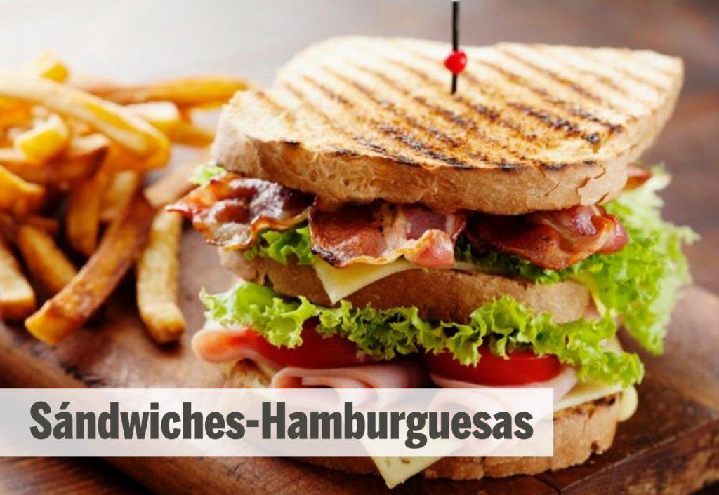Sandwiches - Hamburguesas